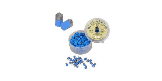 Metal pellets for pistol (blue) - .177 - x 250