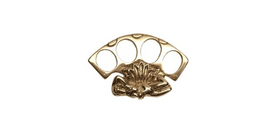 Erotic Knuckle-duster - Golden