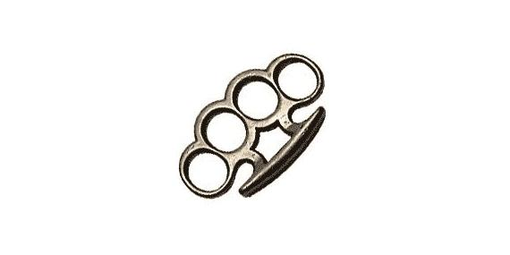 Standard Knuckle-duster - Black bronze