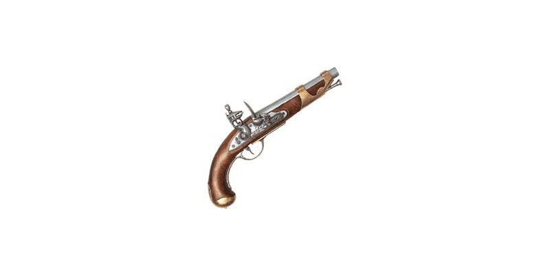 Inert replica of the french cavalry pistol 1800