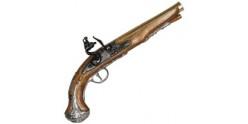 Réplique inerte du pistolet anglais ''Général Washington'' XVIIIe siècle