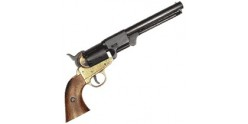 Inert replica of Colt Navy 1851 revolver black