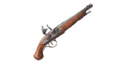 Réplique inerte du pistolet de duel XVIIIe siècle