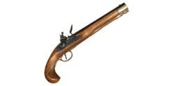 Réplique inerte du pistolet Kentucky XIXe siècle