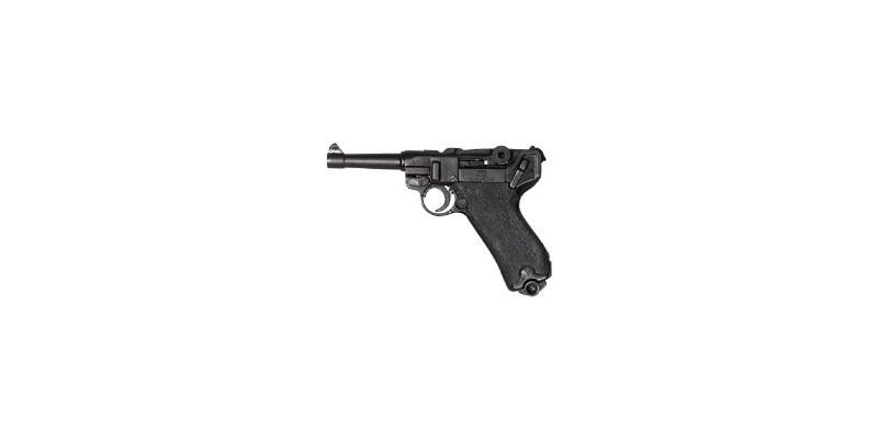Réplique inerte du pistolet automatique Luger P08 Parabellum