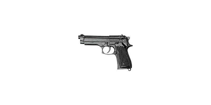 Réplique inerte du pistolet automatique Beretta 9mm