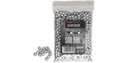 Sachet 500 billes Soft Air - Aluminium - 0.30g