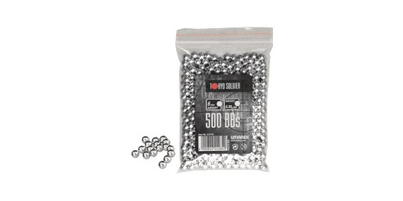 500 pellets Soft Air - Aluminium - 0.30g