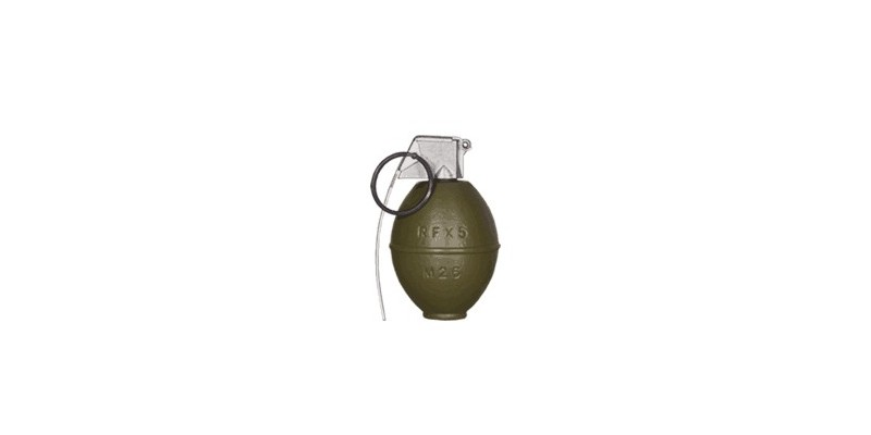 Grenade à main Soft Air M26 - Factice
