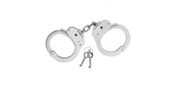 Nickel-plated handcuffs