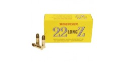 22 Lr ammunitions - WINCHESTER - Long Z - 2 x 50