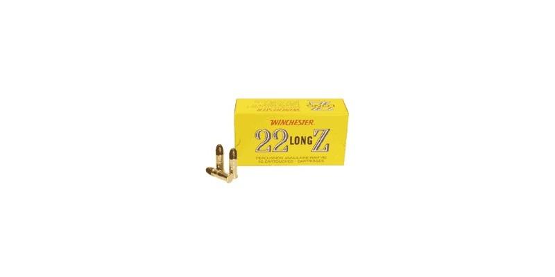 22 Lr ammunitions - WINCHESTER - Long Z - 2 x 50