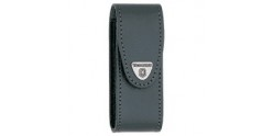 VICTORINOX leather sheath - Large size (111 mm) - Black
