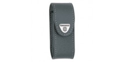 VICTORINOX leather sheath - Small size - Black