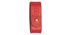 VICTORINOX leather sheath - Small size - Red