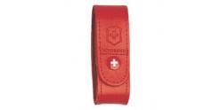 Etui cuir VICTORINOX - 6 à 14 pièces - rouge
