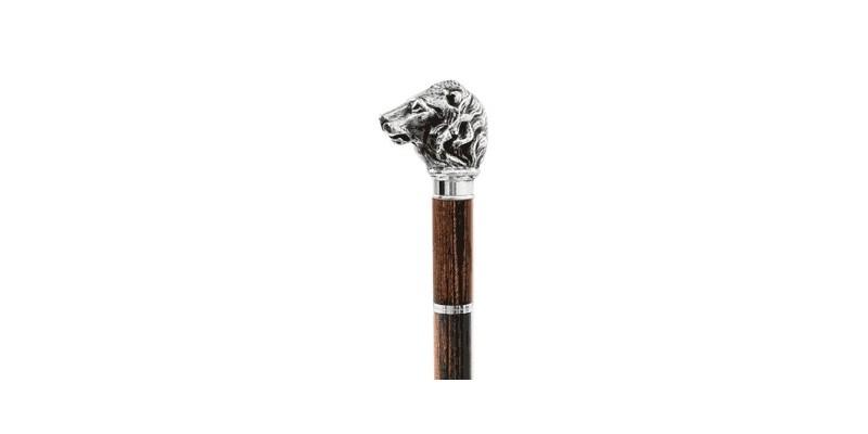 Canne épée Fayet - Tête de lion