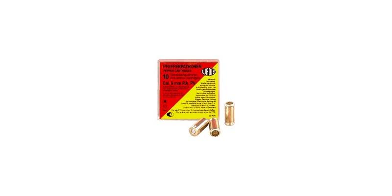 Cartouches 9mm Pistolet à gaz poivre 10