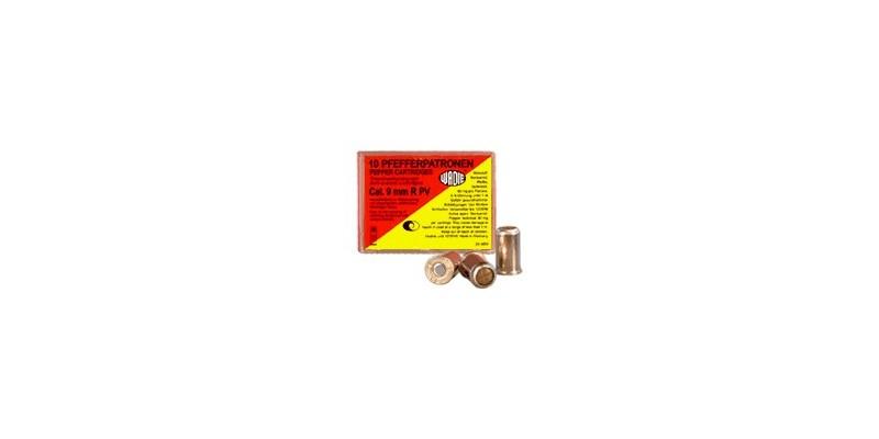 9 mm pepper gas revolver cartridges 10