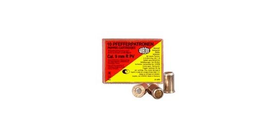 9 mm pepper gas revolver cartridges / 10