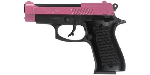 Pistolet Kimar Mod. 85 PINKY - Carcasse bronzée, culasse rose