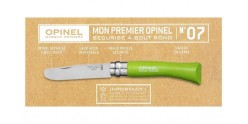 Knife OPINEL - My first Opinel - N°07 - Apple Green