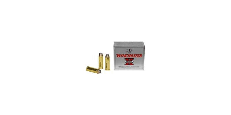 Munitions .44 REM. MAG. - WINCHESTER Super X - SP - 20 cart