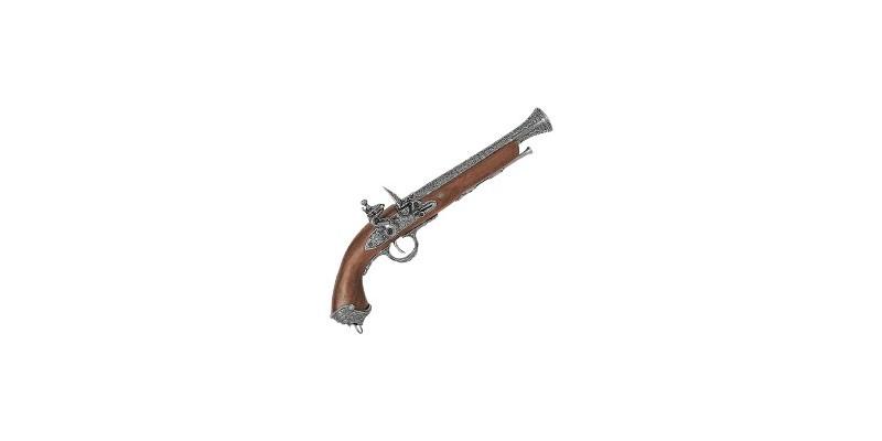 Réplique inerte du pistolet italien XVIIIe siècle