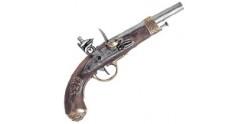 Réplique inerte du pistolet Napoléon Gribeauval 1806
