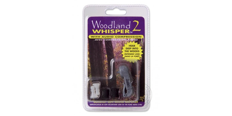 Protection auditive WOODLAND - Whisper 2