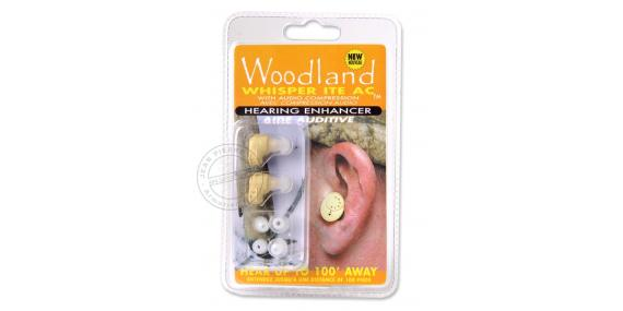 Hearing protect WOODLAND Whisper ITE AC