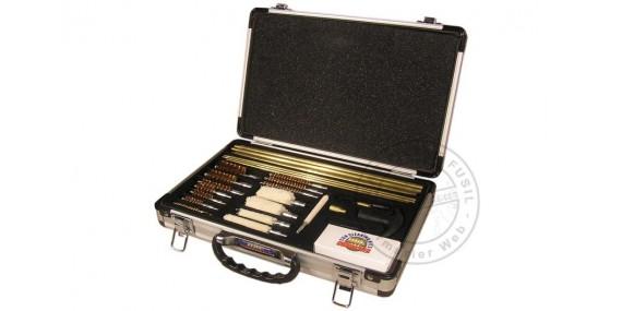 kit de nettoyage universel en valise pour armes