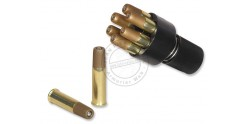ASG - Speedloader for CO2 revolver + 6 cartridges