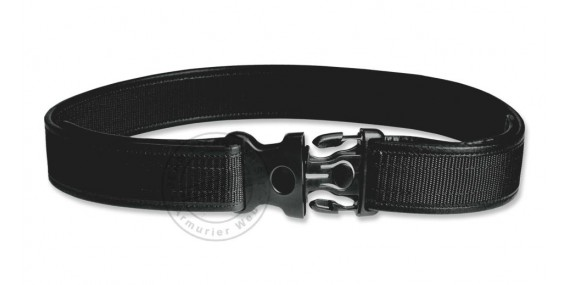 Cordura security belt with security buckle