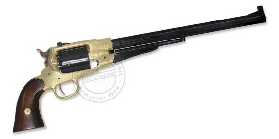 Revolver PIETTA Remington 1858 'Buffalo' Texas Cal. 44 - Canon 12''