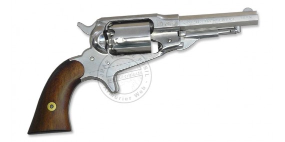 Revolver PIETTA Remington 1863 Pocket nickelé Cal. 31 - Canon 3,5''