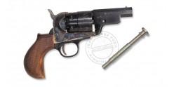 Revolver PIETTA Navy Yank Snubnose 1851 Cal. 44 - round lined stock- Barrel 3''