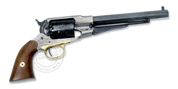 Revolver PIETTA Remington 1858 Luxe Cal. 44 - Barrel 8''