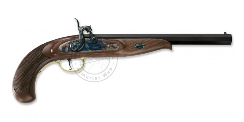 Pistolet PEDERSOLI Continental Duelling Cal. 45 rayé percussion