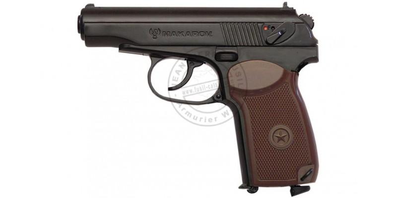 Pistolet 4,5 mm CO2 UMAREX MAKAROV noir (3 joules)