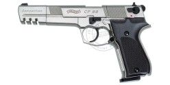 Pistolet 4,5 mm CO2 WALTHER CP88 Competition 6'' Nickelé (4 joules)
