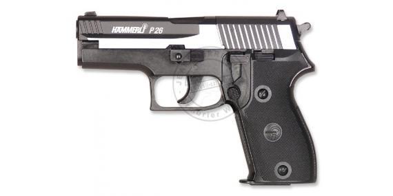 Pistolet à plomb CO2 4.5 mm UMAREX Hammerli P26 Dark Ops (3,6 joules)