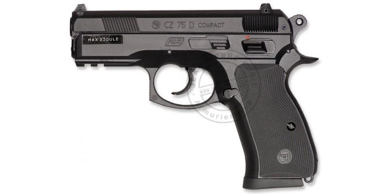 Pistolet 4,5 mm CO2 ASG CZ 75D Compact (3 joules)
