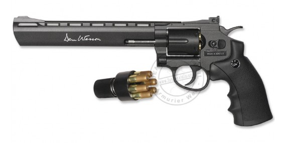 ASG Dan Wesson 8'' CO2 revolver - .177 bore (3 joules)
