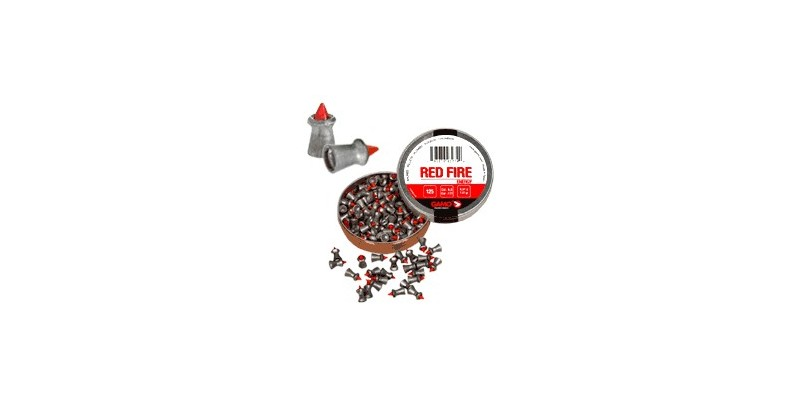 Plombs GAMO Red Fire 4,5mm 125