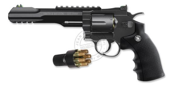 Revolver 4,5mm CO2 UMAREX - Smith & Wesson 327 TRR8 - Noir (2,75 joules)