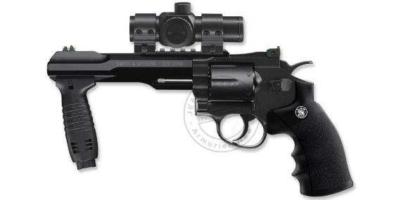 Kit Revolver 4,5mm CO2 UMAREX - Smith & Wesson TRR8 avec poignée (2,75 joules)