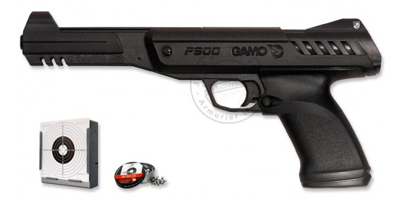 Pistolet 4,5 mm GAMO P900 Gunset (2,55 joules)