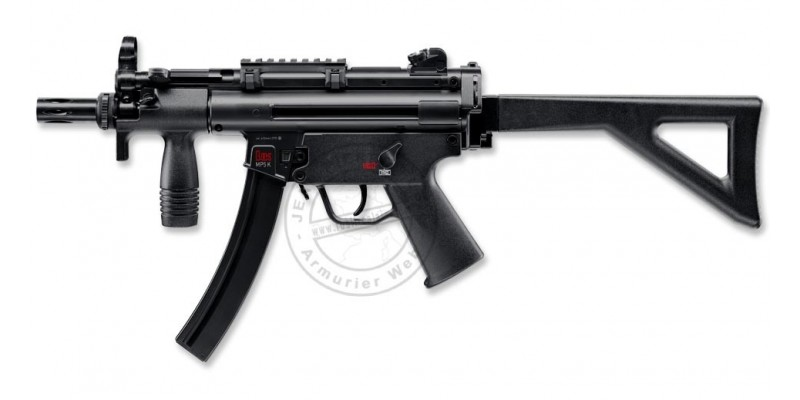 Pistolet 4,5 mm CO2 HECKLER & KOCH MP5 K-PDW (4 joules)