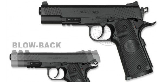 ASG STI Duty One - Blowback CO2 pistol - .177 bore (2.5 joules)